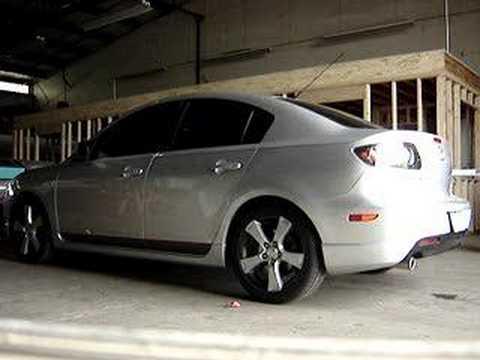 Beautiful 2004 Mazda3 S 2.3 Custom Exhaust
