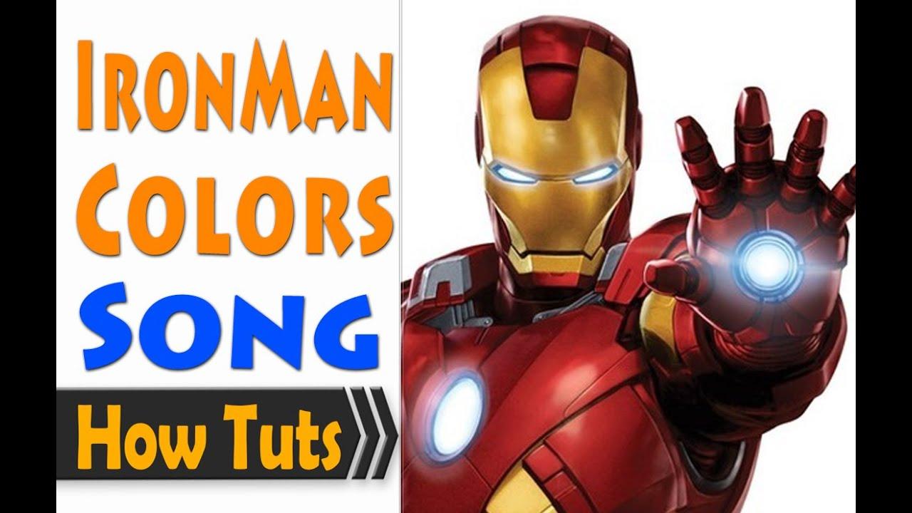 - Children Songs English - Iron Man Favorite Colors - YouTube
