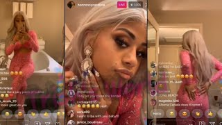 Cardi B Sister Hennessy LIVE Dancing & Being Cute While TIPPY