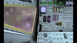 Apollo 12 landing.  Eagle Lander 3D V2.15
