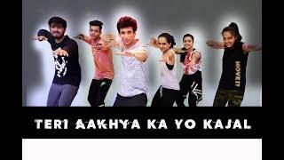 Teri Aakhya Ka Yo Kajal | Dance Choreography | Mohit Jain's Dance Institute MJDi