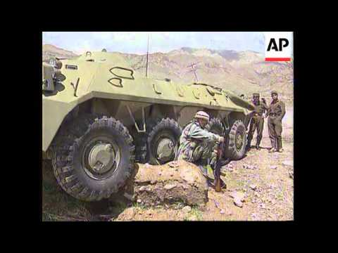 TAJIKISTAN: RUSSIAN TROOPS CLASH WITH REBELS