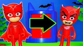 PJ Masks Play with Silly Spooky Transforming Tower Costume Changers thumbnail