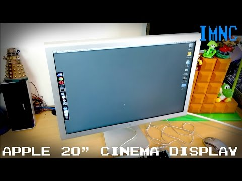 "Apple 20"" Cinema Display 