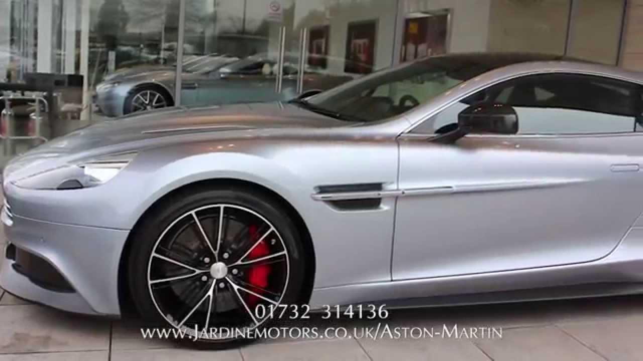 Jardine Motors Group | Aston Martin Vanquish | Lancaster Sevenoaks