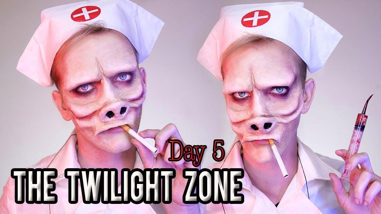 Af modish Twilight Zone Makeup Tutorial | DanielzROTFL - YouTube JX55
