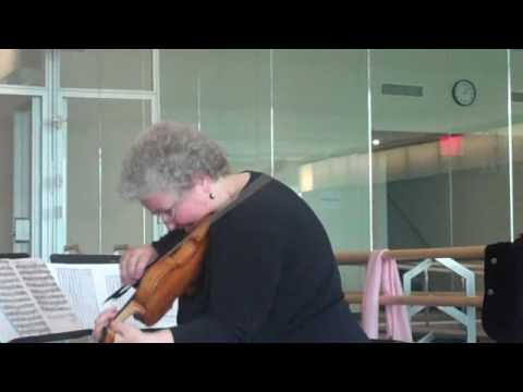 Monica Huggett: Bach Loure ideas