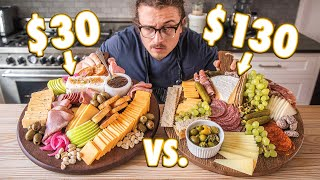 $30 Charcuterie Board vs $130 Charcuterie Board | But Cheaper