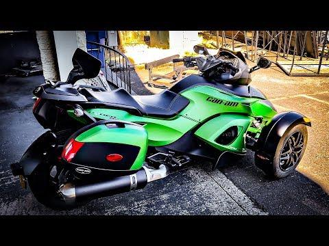 Super Cool Spyder RS-S!! • A 96º Test Ride On It! | TheSmoaks Vlog_970