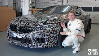 The New Bmw M8! Sneak Preview And Flat Out Hot Laps