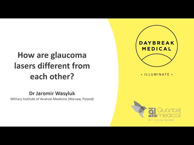 How are glaucoma lasers different from each other?