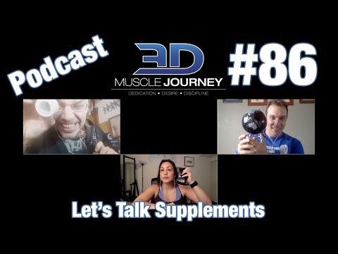 3DMJ Podcast #86: Let's Talk Supplements