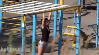 Спортивные девушки Киева   Street Workout Female Kyiv