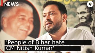 Tejashwi Yadav: Crowds in our rallies show people of Bihar hate CM Nitish | Bihar Elections