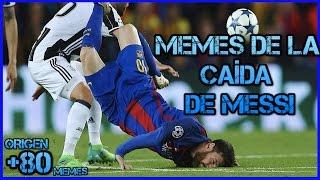 Memes de la caída de Messi MEMES DE LA SEMANA