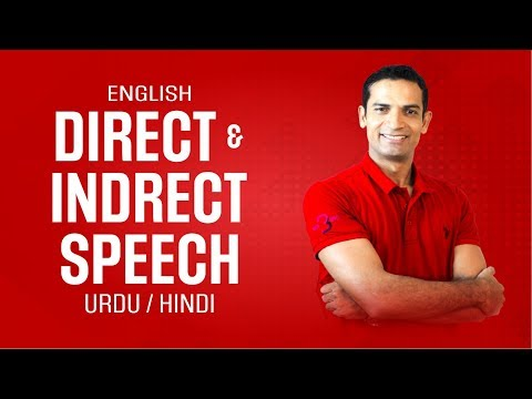 English Grammar Learning Tips | How to Learn Direct and Indirect Speech in Urdu/Hindi by M. Akmal