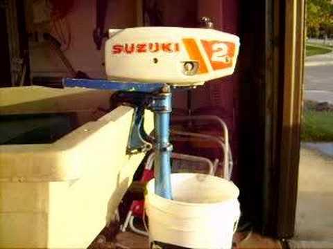 Suzuki Outboard Motor - YouTube