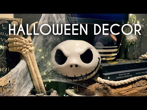 Halloween Decor | Clean & Decorate with me