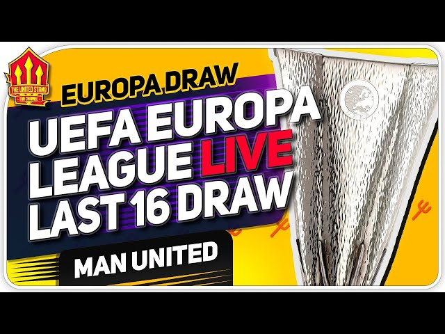 EUROPA LEAGUE DRAW: Man United vs AC Milan Reaction LIVE! Man Utd News Now