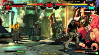 2015/6/20 GGXrd Mikado 3on3 Part 1