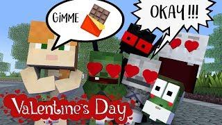 Monster School : BREWING VALENTINE CHOCOLATE - Minecraft Animation
