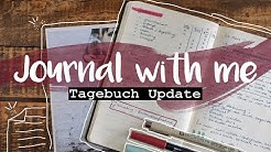 Journal with me - Tagebuch Update #kreativjournal