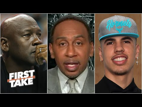 Did Michael Jordan make the right choice by drafting LaMelo Ball to the Hornets?   First Take