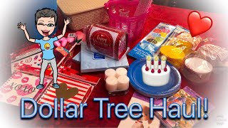 Dollar Tree Haul | January 2019 | Valentine's Day ❤️ | Party Supplies 🎂