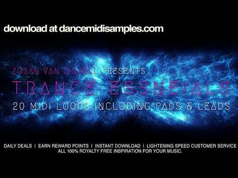 Trance MIDI Pack: Trance Essentials 2- Demo Track