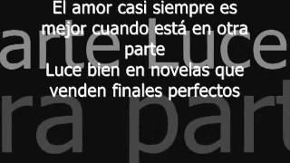 El amor Ricardo Arjona Letra Lyrics.avi