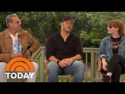 Chris Pratt, Bryce Dallas Howard, Jeff Goldblum & Cast Of 'Jurassic World: Fallen Kingdom' | TODAY