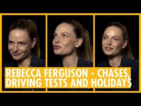 Rebecca Ferguson Interview. Mission: Impossible Fallout ...