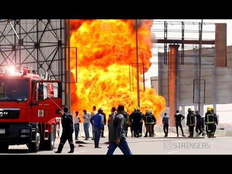 EGYPT || One killed, 17 injured in gas pipeline explosion