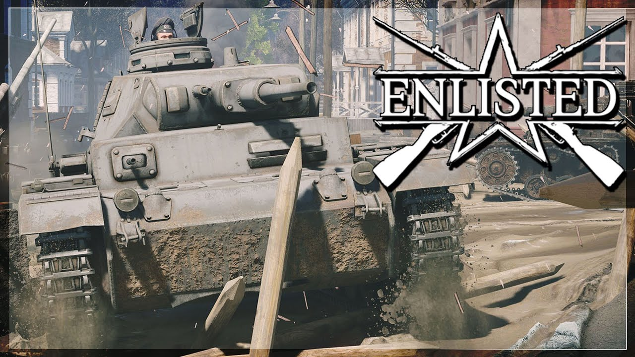ENLISTED | This GAME IS AWESOME  (Panzer 3 & Infantry Gameplay)