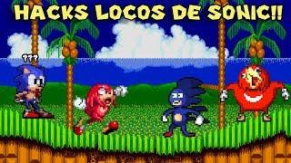 Probando Hacks y Mods Extraños de Sonic con Pepe el Mago