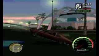 GTA San Andreas - Машина, которая встает на дыбы