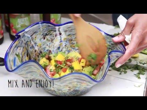 The Posh Pescatarian: Mango Avocado Salsa-How to Make Mango Avocado Salsa-Avocado Mango Salsa Recipe