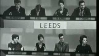 "Granada TV's ""University Challenge"" 1962/3"