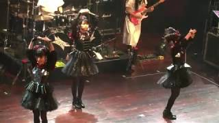 This is a clip of babymetal's Awadama Fever at their Chicago House ...