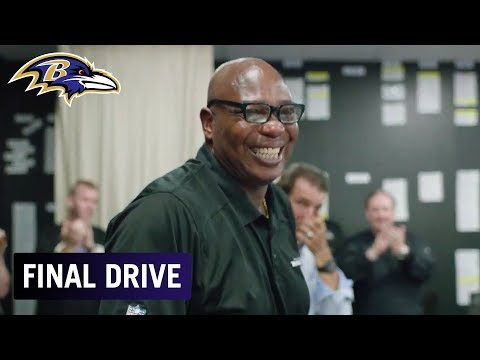 GM Ozzie Newsome Farewell to Ravens | Final Drive