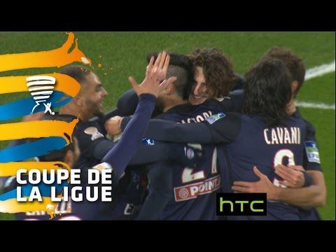But Adrien RABIOT 17' / Paris Saint-Germain - Olympique Lyonnais 2-1 -  1/4 de finale / 2015-16