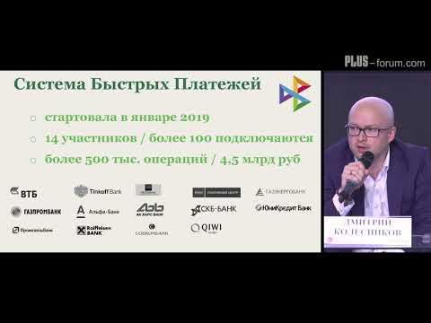 PLUS-forum. Дмитрий Колесников, НСПК / Dmitry Kolesnikov, NSPK