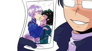 He kissed a guy: Tododeku (Animatic)