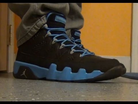 new concept 34422 6fee7 2012 Air Jordan 9 Slim Jenkins IX Sneaker Review With  DjDelz - YouTube
