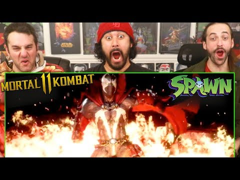 Mortal Kombat 11 | SPAWN GAMEPLAY TRAILER - REACTION!!!