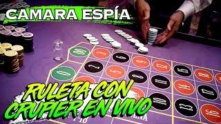 Entre a un casino con camaras espía a jugar ruleta con crupier | PKM