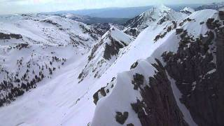 East Face of Lone Peak, Wasatch Backcountry, 11 Jun 2011 Thumbnail