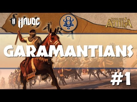Total War: Attila - Garamantians #1 | Death to the Gaetulians