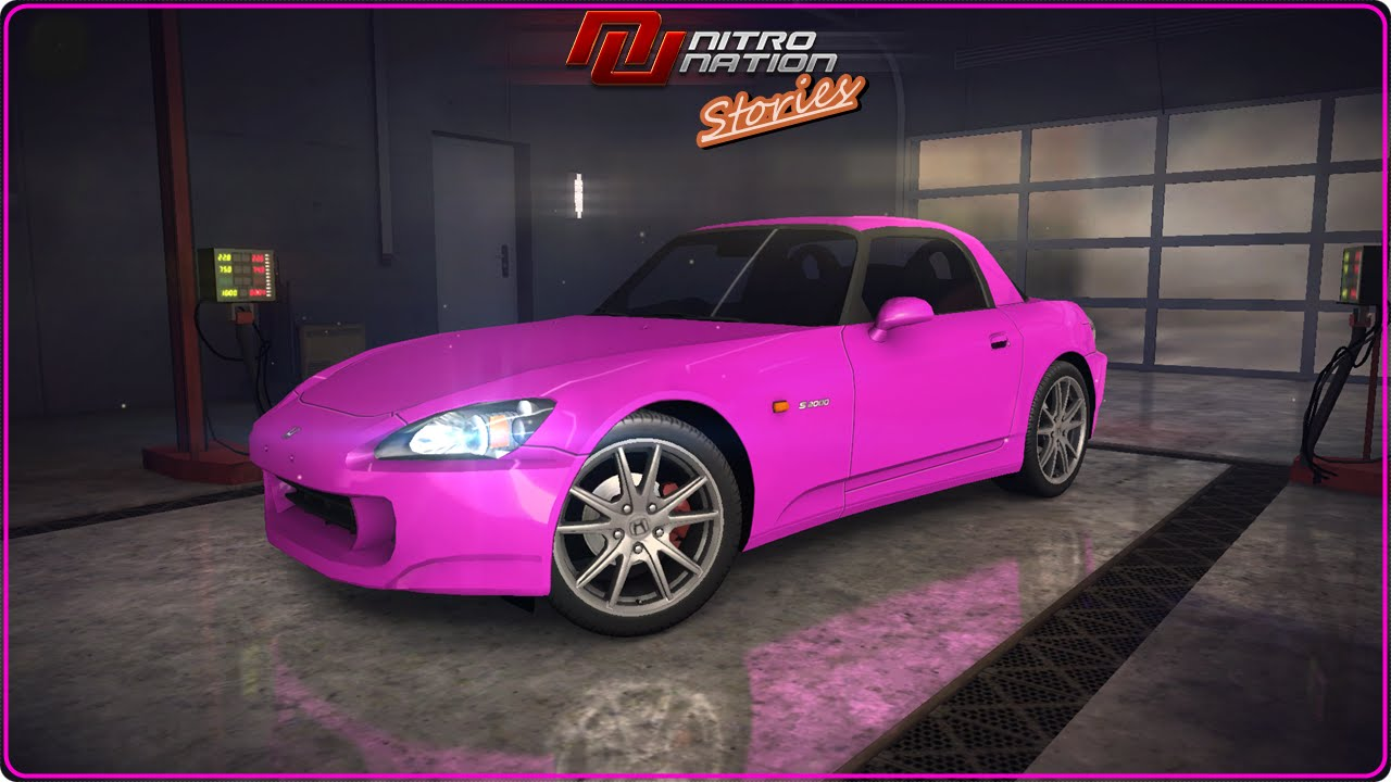 Nitro Nation Stories Honda S2000 Auto Car Gameplay HD