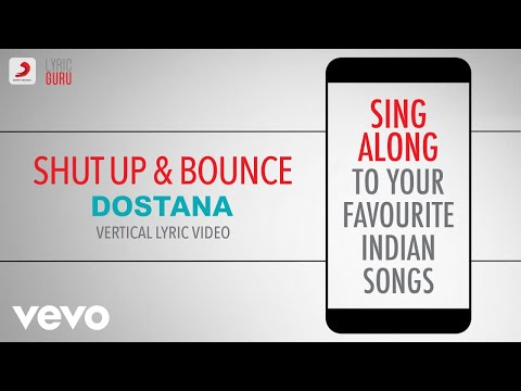 Shut Up & Bounce - Dostana|Official Bollywood Lyrics|Sunidhi Chauhan|Vishal & Shekhar